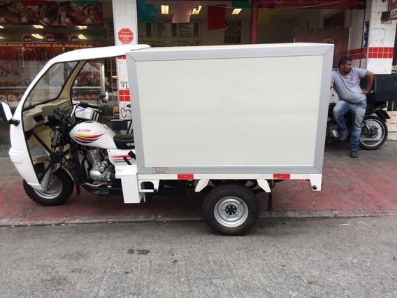 Triciclo De Carga - Tuc-tuc Motocar Com Apenas 900 Km