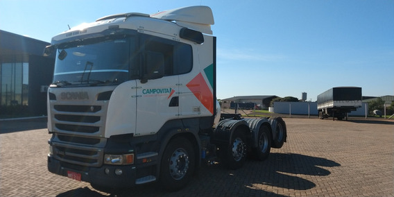 Scania R440 8x2 + Carreta