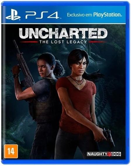 Uncharted The Lost Legacy - Ps4 Novo Lacrado Mídia Física