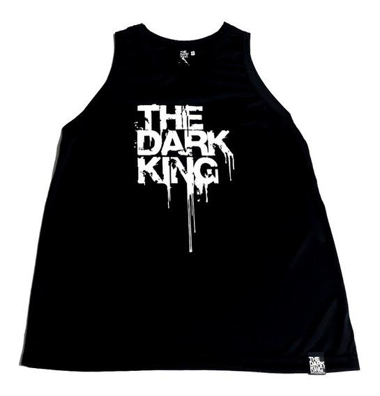 Musculosa Básquet Deportiva Dry Fit Estampada The Dark King