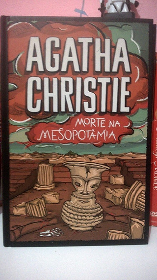 Livro Agatha Christie Morte Na Mesopotâmia