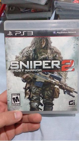 Sniper 2 Ghost Warrior(leia) - Mídia Física - Ps3