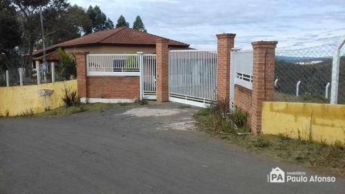 Chácara Com 2 Dormitórios À Venda, 20000 M² Por R$ 800.000,00 - Zona Rural - Poços De Caldas/mg - Ch0093