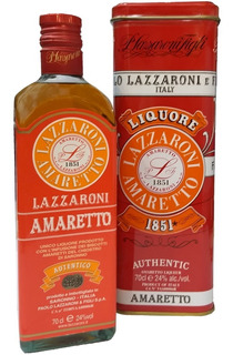 Amaretto Lazzaroni En Lata Licor Italiano Envio Gratis Caba