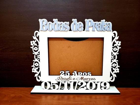 Porta Retrato Bodas De Prata