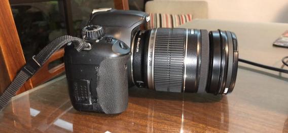 Canon Eos T2i Rebel + Par De Lentes Canon + Lente Vivitar