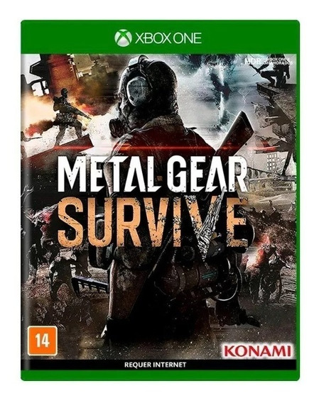 Metal Gear Survive Xbox One Mídia Física Lacrado Original Br