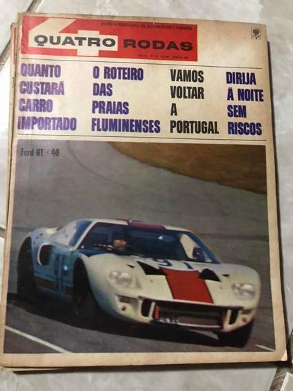 Quatro Rodas 78 Janeiro 1967 Ford Gt 40 Willys Frete Grátis!
