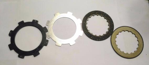 Kit Disco Embreagem Mini Moto Quadriciclo Semi-automatico