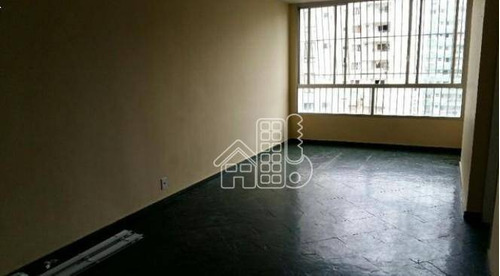Apartamento Com 2 Dormitórios À Venda, 90 M² Por R$ 690.000,00 - Icaraí - Niterói/rj - Ap2227