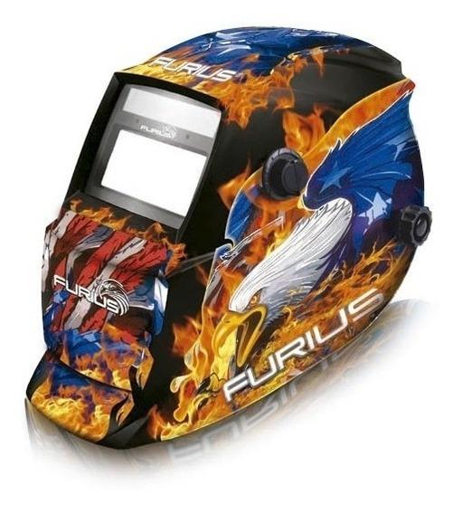 Careta Para Soldar Electrónica - Furius Falcon 441