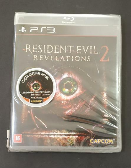 Resident Evil Revelations 2 Playstation 3 Lacrado. Sony Ps3