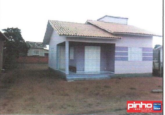 Casa 02 Dormitórios Para Venda Direta Caixa, Bairro Bom Retiro, Jaguaruna, Sc - Ca00295