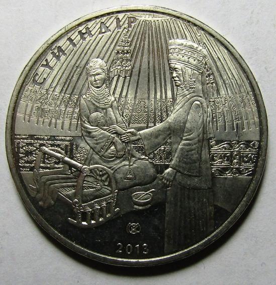 Kazajistan Moneda 50 Tenge Unc 2013 Suyindir