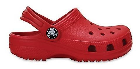 Crocs Original Classic Rojo Oscuro Kids | Nena - Nene