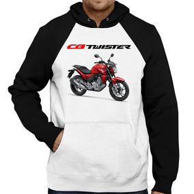 Moletom Moto Honda Cb 250 F Twister Vermelha