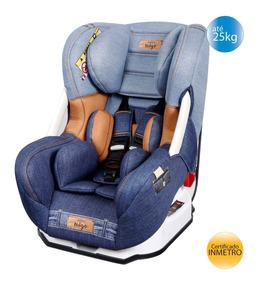 Cadeira Cadeirinha De Carro Migo Eris Denim Azul Até 25kg