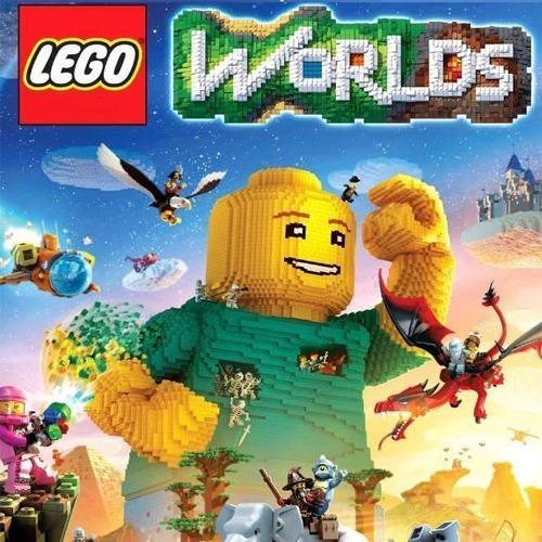 Lego Worlds -pc-dvd(midia Fisica)