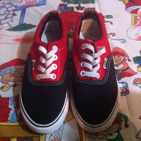 Navidad! Zapatos Vans Old School Para Niños Del 28 Al 33