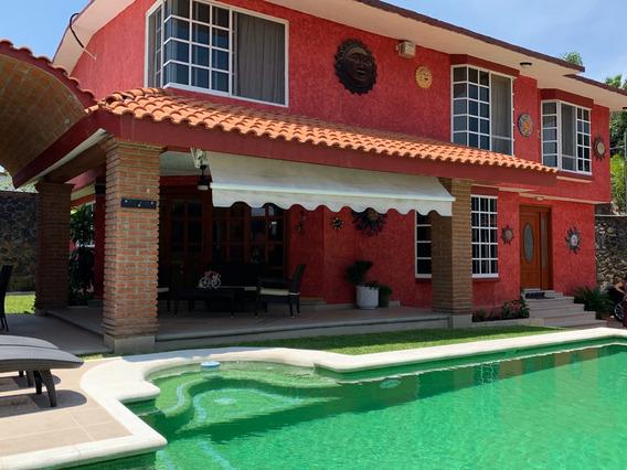 Linda Casa Estilo Mexicano Zona Lomas De Cuernavaca