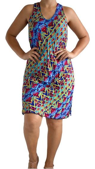 Roupas Feminina Vestido Simples Grande Verão Kit 2 Atacado