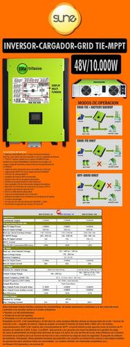 Energía Solar Inversor Híbrido 10kw
