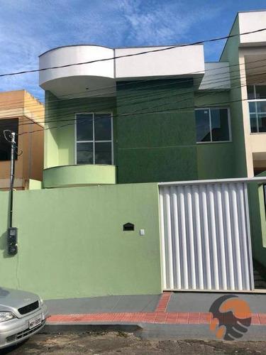 Casa Com 2 Quartos À Venda, 80 M² - Ipiranga - Guarapari/es - Ca0556