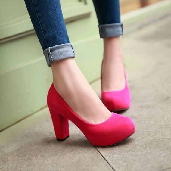 Zapatos P Mujer - Tacones/plataformas Negros