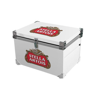 Caixa Térmica 90 Litros ( Stella Artois Branca )