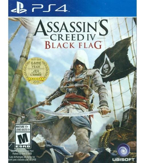 Assassins Creed Iv Black Flag Ps4 Mídia Física