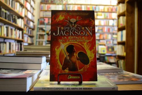 La Batalla Del Laberinto (percy Jackson Y Los Dioses Olimpo)