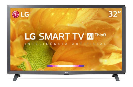 Smart Tv LG Lcd 32 Upscaler Hd - Hdr Ativo - 32lm625bpsb