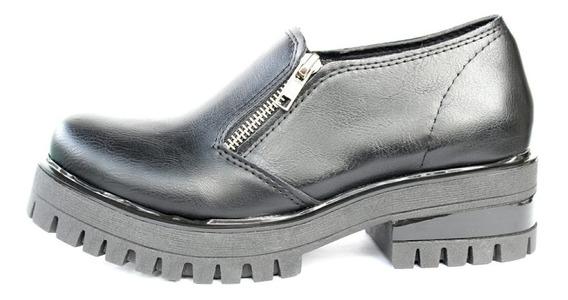 Zapato Mujer Doble Cierre Bajo 307k