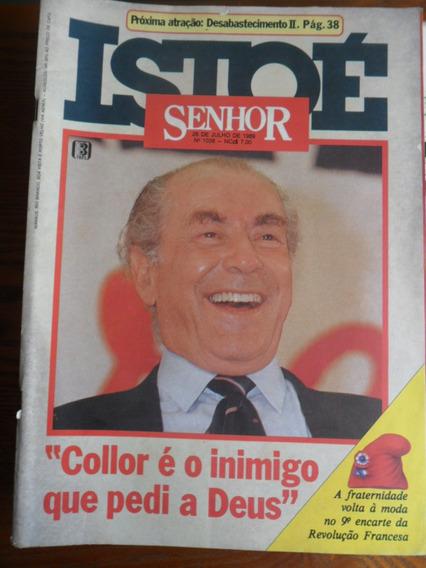 Isto É - Brizola - Eleições 89 (nº 1036) Frete Grátis