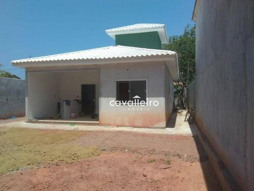 Casa À Venda, 112 M² Por R$ 450.000,00 - Jardim Atlântico Oeste (itaipuaçu) - Maricá/rj - Ca3343