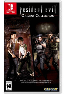 Resident Evil Origins Collection Nintendo Switch Nuevo