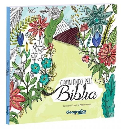 Livro Agatha Rolim - Caminhando Pela Bíblia - Colorir