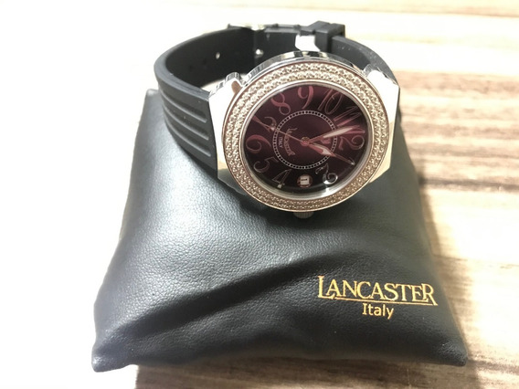 Relogio De Luxo Diamante 36mm Lancaster Ref 0226l