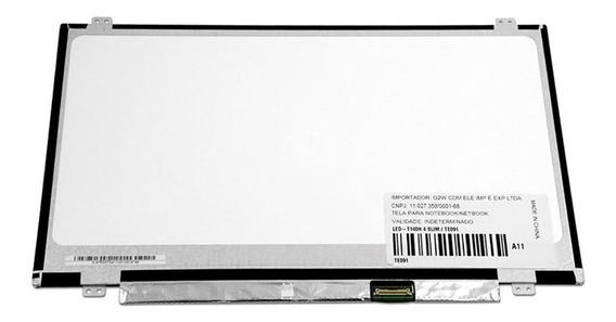 Tela 14 Led Slim Para Notebook Multilaser Pc101 | Fosca