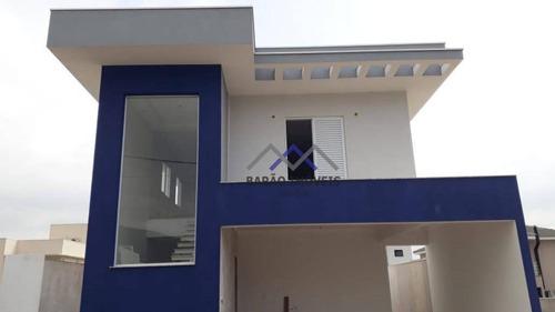 Casa Com 3 Dormitórios À Venda, 198 M² Por R$ 1.380.000,00 - Recanto Quarto Centenário - Jundiaí/sp - Ca0770