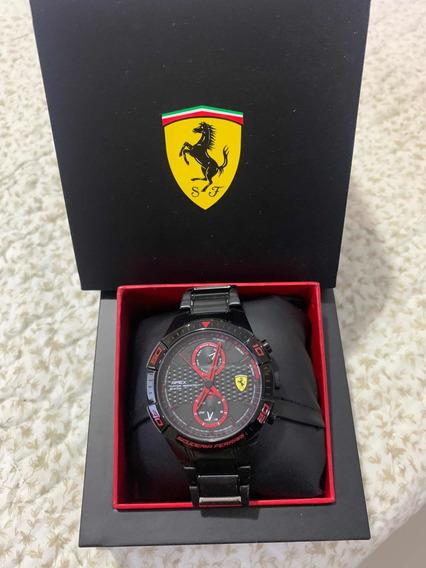 Relógio Ferrari Original Com Nota Fiscal.