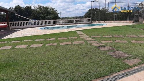 Chácara Com 3 Dormitórios À Venda, 2000 M² Por R$ 800.000,00 - Jardim Santa Lucia - Jarinu/sp - Ch0302
