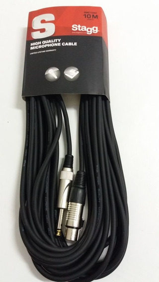 Cable Stagg Canon Plug 10 Mts Smc10xp