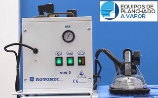 Generador De Vapor (caldero) Con Plancha De Mano Industrial