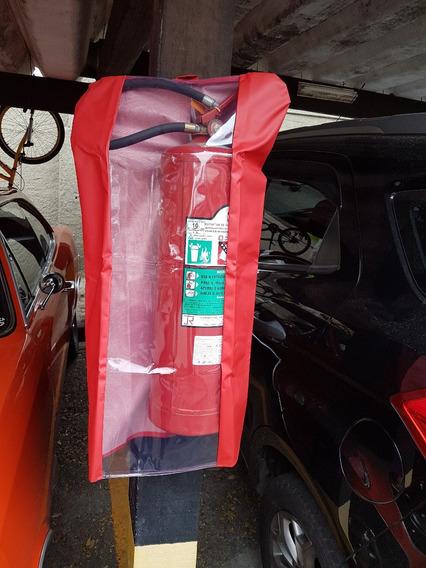 Capa Para Extintor Em Bagum - M (pqs 6, 12, Co2 6kg E Ap)