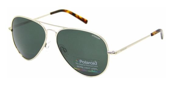 Óculos De Sol Polaroid 1017 Polarizado Aviador