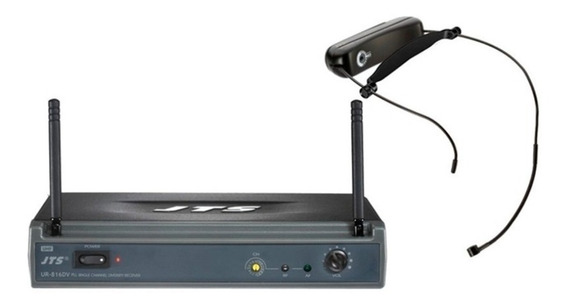 Microfone Sem Fio Jts Headset Ur 816dv /ut16h