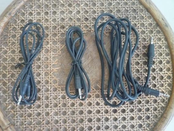 Cable De Audio Conector Plug 3.5mm Macho/macho
