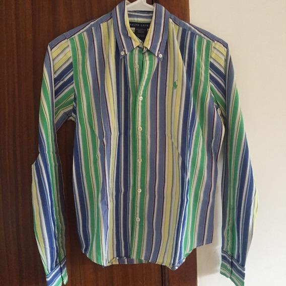 Camisa M Polo Ralph Lauren Mujer