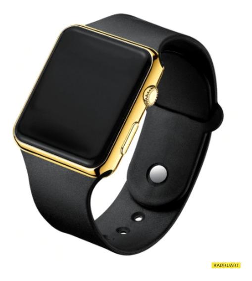 Relógio Digital Led Colorido Silicone Infantil / Adulto